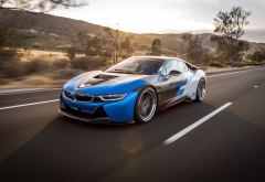 bmw i8 vorsteiner, bmw, supercar, road, cars, tuning, bmw i8, vorsteiner wallpaper