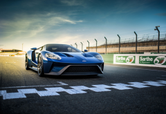 ford gt ii, supercar, ford, track, markup, cars wallpaper