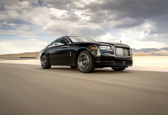 rolls-royce wraith black badge, cars, rolls-royce, speed, rolls-royce wraith wallpaper