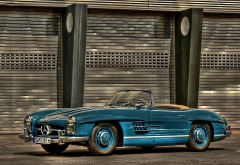 vintage, mercedes convertible, mercedes-benz, retro, cars wallpaper