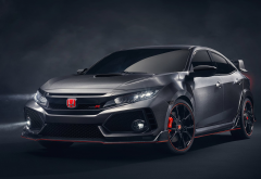 2017 honda civic type r concept, honda civic, honda civic type r, cars, honda wallpaper