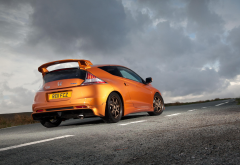 cars, Honda CR-Z Mugen, Honda CR-Z, Honda, clouds wallpaper