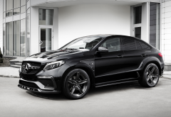 2016 mercedes-benz gle coupe inferno, mercedes-benz gle, mercedes, cars, black mercedes-benz, cars wallpaper