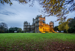wollaton hall, wollaton park, nottingham, england, castle, grass, park, city wallpaper