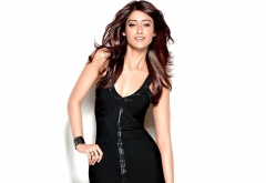 ileana dcruz, indian actress, smile, women, bollywood, black dress wallpaper