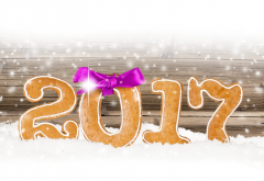 news year, 2017, christmas, snow, art, graphics, holidays wallpaper
