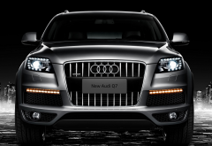 2008 audi q7 s line, audi q7, audi, cars, night, city wallpaper