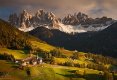 italy, south tyrol, dolomites, alps, mountains, peak, nature, scenery wallpaper