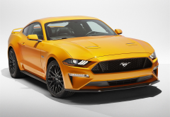 2018 ford mustang v8 gt performa, ford mustang, ford, cars wallpaper