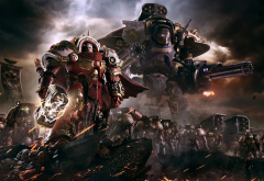 warhammer 40000: dawn of war III, video games, warhammer, robot wallpaper