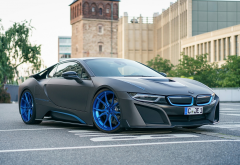 2016 gsc bmw i8, bmw i8, bmw, cars wallpaper