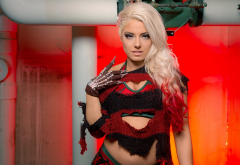 alexa bliss,wwe, blonde, women wallpaper