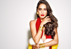 lisa haydon, indian model, actress, brunette, bollywood, women wallpaper