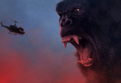 kong: skull island, helicopter, king kong, kong, movies wallpaper