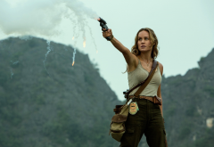 kong: skull island, movies, gun, women, celebrity, actress, brie larson, mason weaver wallpaper