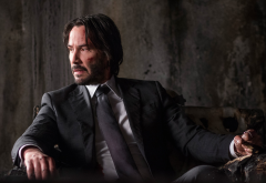 john wick: chapter 2, john wick, keanu eeeves, man, actors, suit, tie, movies wallpaper