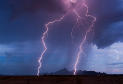 lightning, thunder, discharge, beautiful, dangerous, photo, nature wallpaper