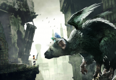 the last guardian, video games, trico wallpaper