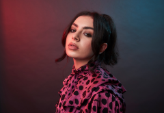 charli xcx,music is universal lounge,singer, women, brunette, music wallpaper
