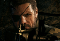 metal gear solid v: the phantom pain, video games, metal gear solid wallpaper