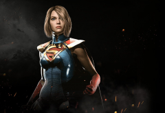 injustice 2, supergirl, video games wallpaper