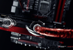 ASUS, ASUS ROG, liquid, cooling fan, technology, PC gaming wallpaper