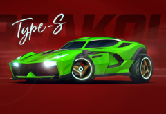 rocket league, video games, type s, psyonix, cars wallpaper