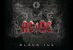 rock, acdc, black ice, logo, music wallpaper