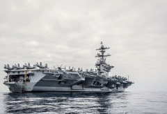 aircraft carrier, ship, sea, 15 uss theodore roosevelt, cvn-71 wallpaper