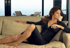 caitlyn jenner, �������� television personality, legs, women, brunette, couch wallpaper