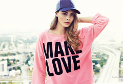 cara delevingne, model, actress, cap, make love, women wallpaper