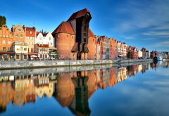 gdansk, old town, pomeranian, gdansk, poland, city wallpaper