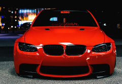 bmw, cars, tuning, red bmw, bmw e91 touring, bmw e91 wallpaper