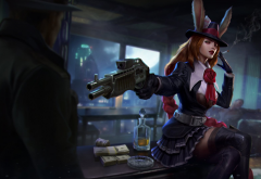 vainglory, moba, gangster, gangster gwen, gameplay, video games wallpaper