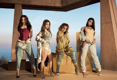 fifth harmony, music, women, jeans, brunette, ally brooke, normani kordei, dinah jane, lauren jauregui wallpaper