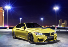 bmw, city, night, bmw m4 f82, hamann, tuning, cars, bmw m4 wallpaper