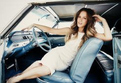 kate beckinsale, actress, car, women, dress, brunette wallpaper