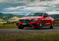 2017 mercedes-benz e400 coupe, mercedes-benz e-class, mercedes-benz, mercedes, mercedes-benz e400, cars, red mercedes wallpaper