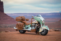 motorcycle, bike, 2017 indian roadmaster classic, indian roadmaster, canyon wallpaper