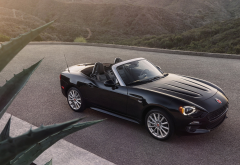 fiat 124 spider, fiat 124, convertible, cars wallpaper