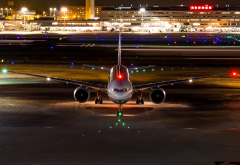 boeing 777, aircraft, night, boeing, aviation wallpaper