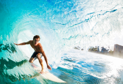 guy, surfing, wave, extreme, sport wallpaper