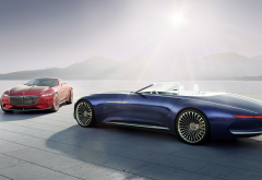 Vision Mercedes-Maybach 6, Mercedes, Maybach, cars, cabrio wallpaper