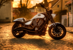 victory hammer s, bike, motorsycle, sunset, victory hammer, victory wallpaper