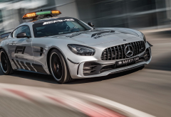 cars, mercedes-benz, mercedes-amg gt, formula 1, safety car wallpaper