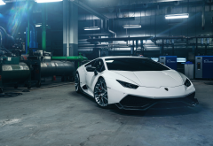 lamborghini huracan, cars, lamborghini, white car, supecrars wallpaper