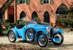 1927 amilcar cgss, cars, retro car, blue car, amilcar, amilcar cgss wallpaper