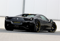 ferrari 458 italia, cars, ferrari 458, ferrari, black car wallpaper