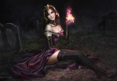 artwork, fantasy art, Magic: The Gathering, Liliana Vess wallpaper