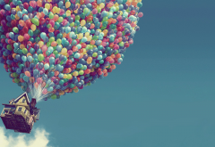 Up, movie, cartoon, balloon wallpaper
